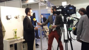 E-world 2015 - Dr. Steffen Kamp (pixolus) im Interview mit RTL West