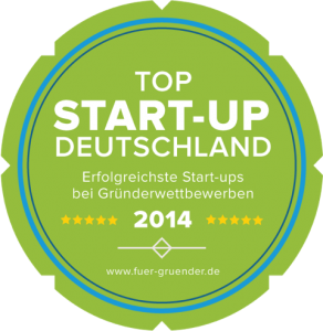 Für-Gründer.de Siegel Top Start-up 2014