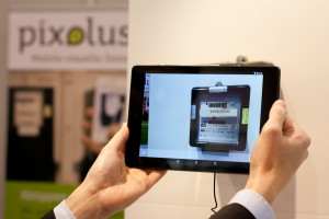 reading an electricity meter by android tablet