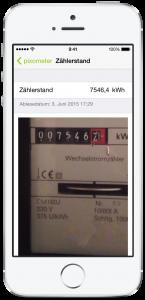 pixometer Zähler ablesen mit Smartphone