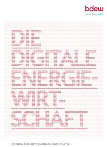 BDEW-Agenda Die digitale Energiewirtschaft | ©BDEW e.v.