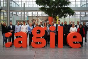 pixolus beim e.on agile accelerator 2017 - Foto: e.on :agile