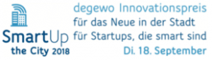 degewo Innovationspreis 2018 Smart up the City