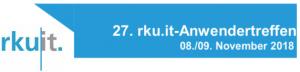 rku.it Anwendertreffen 2018 mit pixolus & pixometer