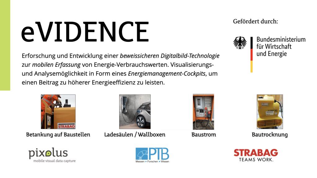 eVIDENCE Projekt-Steckbrief